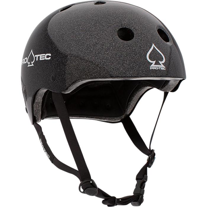 PROTEC(CPSC)CLASSIC BLACK METAL FLAKE-XL HELMET