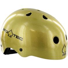 PROTEC (CPSC)CLASSIC GOLD FLAKE-XL HELMET