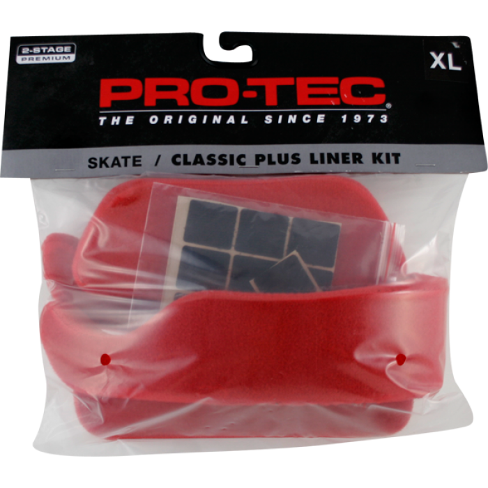PROTEC CLASSIC LINER KIT XS-RED