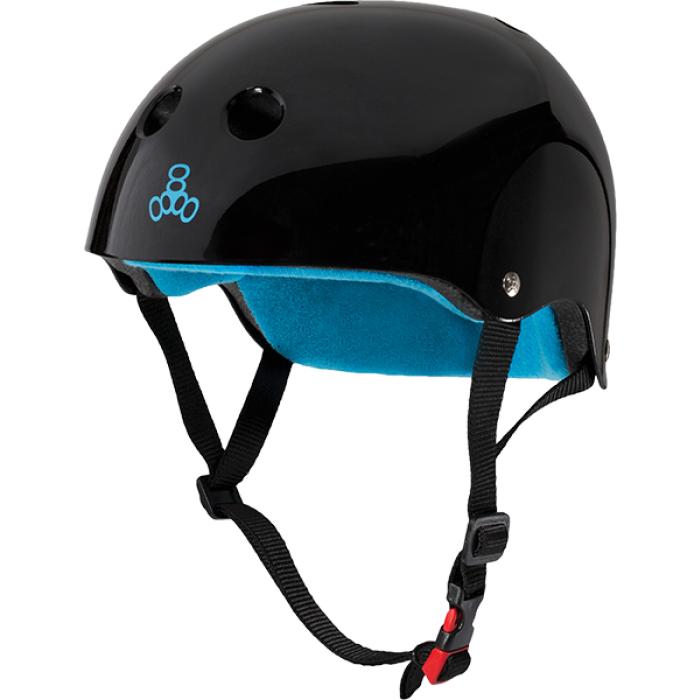 T8 CERTIFIED SWEATSAVER S/M-BLACK GLOSS/BLUE