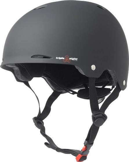 T8 GOTHAM HELMET L/XL-MATTE BLACK cpsc/astm