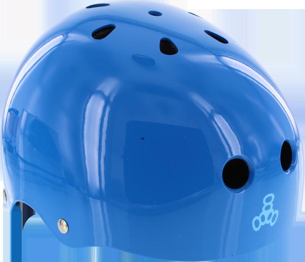 T8 LIL 8 HELMET BLUE GLOSS cpsc