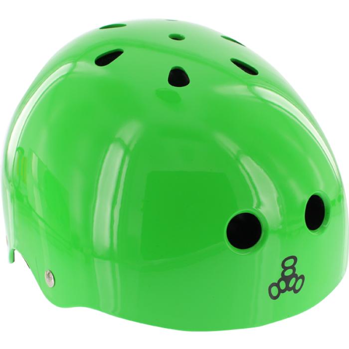 T8 LIL 8 HELMET NEON GREEN GLOSS cpsc