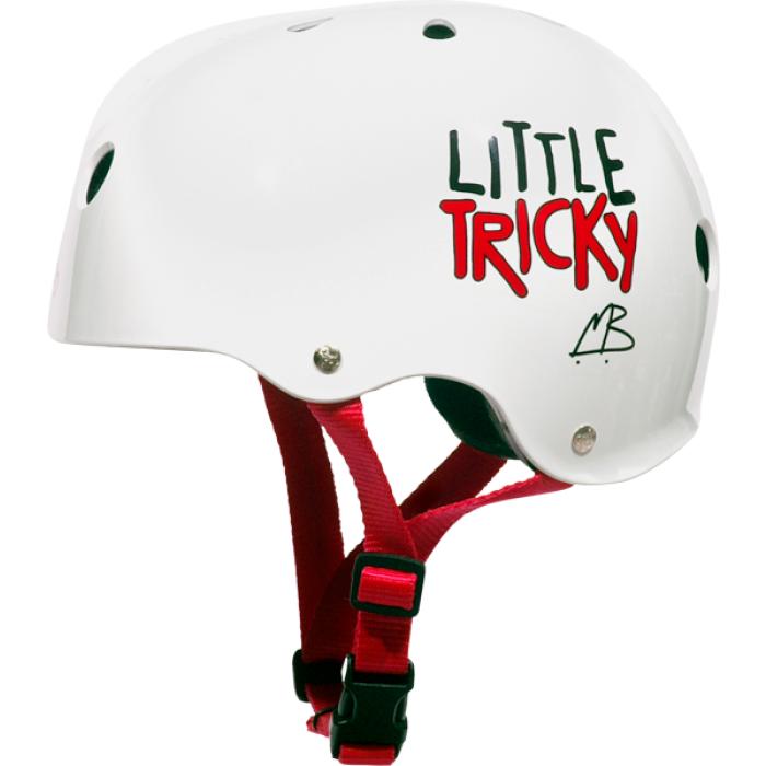 T8 LITTLE TRICKY HELMET WHITE GLOSS eps liner