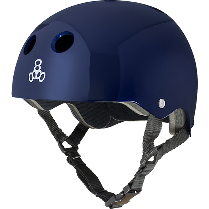 T8 HELMET BLUE METALLIC/STD.LINER SM