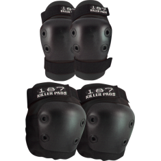 187 COMBO PACK KNEE/ELBOW PAD SET L/XL-BLACK