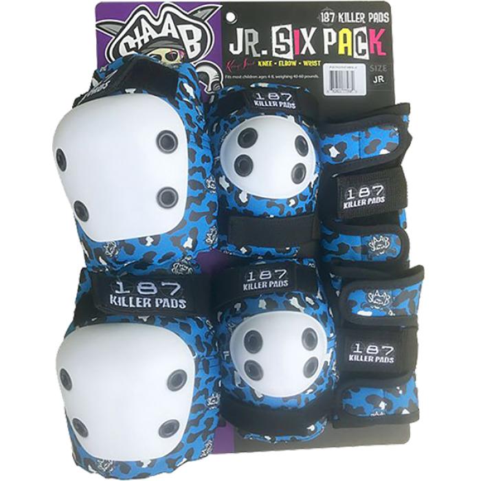 187 6-PACK PAD SET JR-STAAB BLUE