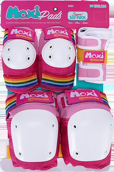 187 6-PACK PAD SET XS-MOXI PINK