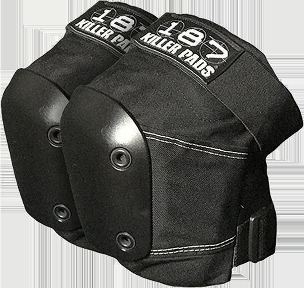 187 SLIM KNEE PADS XL-BLK/BLK