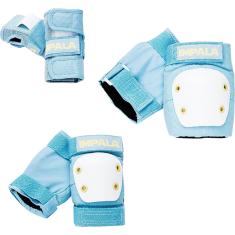 IMPALA KIDS PROTECTIVE PACK PADS JR S-SKY BLU/YEL