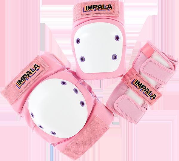 IMPALA KIDS PROTECTIVE PACK PADS JR S-PINK