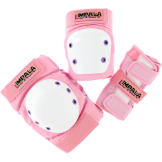 IMPALA KIDS PROTECTIVE PACK PADS JR M-PINK