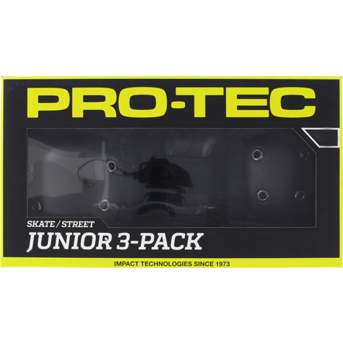 PROTEC JUNIOR 3 PACK BOX YM-BLACK