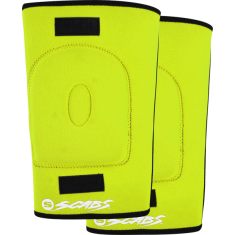 SMITH SCABS KNEE GASKET S-YELLOW