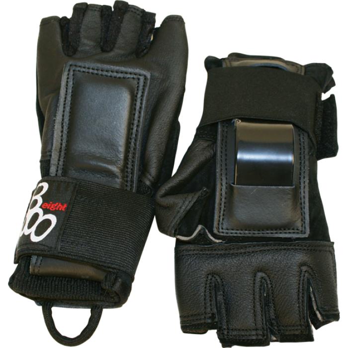 TRIPLE 8 HIRED HANDS GLOVES L-BLACK
