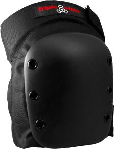 TRIPLE 8 STREET KNEE PAD XS-BLACK W/BLK CAP