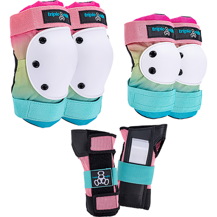 TRIPLE 8 SAVER 3/PK PADS S-SHAVED ICE