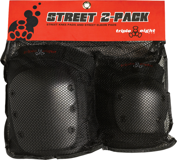 TRIPLE 8 STREET 2/PACK S BLACK