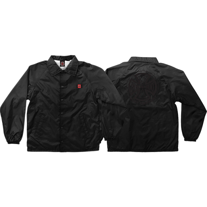 INDE CHADWICK COACH WINDBREAKER M-BLACK