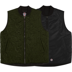 INDE CORE REVERSIBLE VEST S-FORSET GREEN
