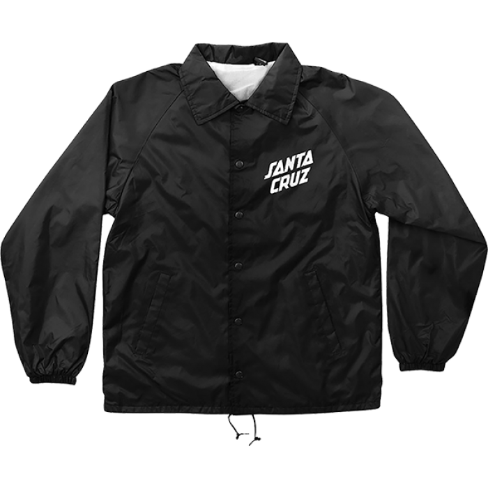 SC SLANT STRIP COACH WINDBREAKER XL-BLACK/WHT