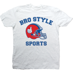 BRO STYLE SPORTS SS S-WHITE