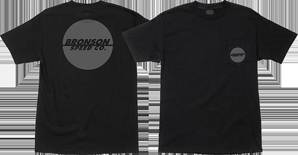 BRONSON ONE COLOR SPOT SS S-BLACK