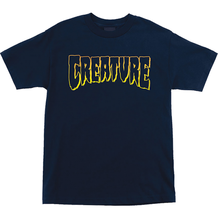CREATURE LOGO OUTLINE SS S-NAVY