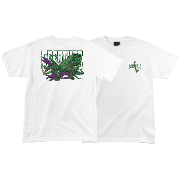 CREATURE OCTO SS S-WHITE