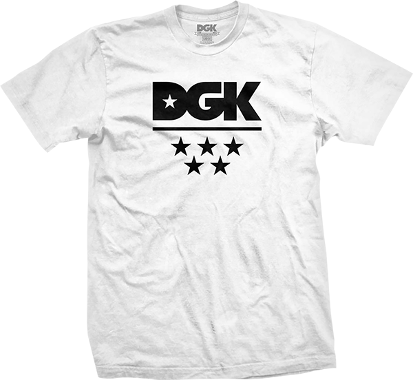DGK ALL STAR SS S-WHITE