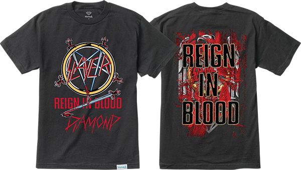 DIAMOND X SLAYER REIGN IN BLOOD SS S-BLACK