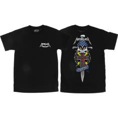 DOGTOWN X METALLICA SS S-BLACK