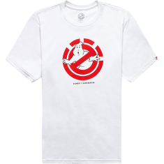 ELE GHOSTBUSTERS GHOSTLY SS XL-OPTIC WHITE