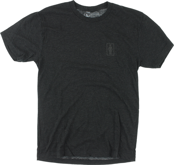 GIRL TRI-BLEND OG SS S-CHARCOAL HEATHER