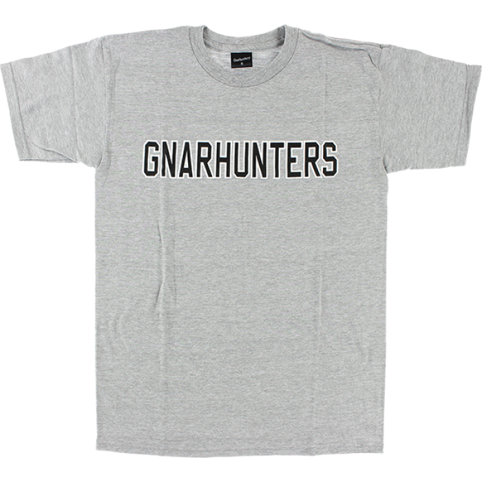 GNARHUNTERS COLLEGE OUTLINE SS S-GREY