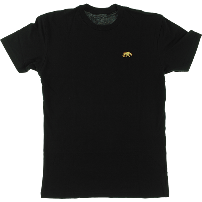 HAB SABER TOOTH EMBROIDERED SS S-BLACK