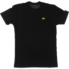 HAB SABER TOOTH EMBROIDERED SS M-BLACK