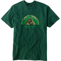 HAB SMOKEY BEARNOCULARS SS S-FOREST GREEN