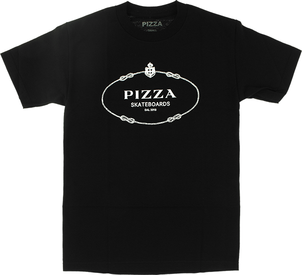 PIZZA COUTURE SS S-BLACK
