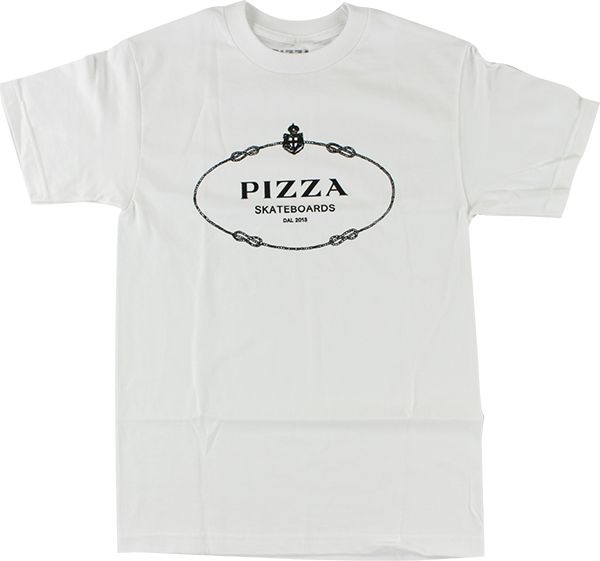 PIZZA COUTURE SS S-WHITE