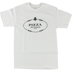 PIZZA COUTURE SS L-WHITE