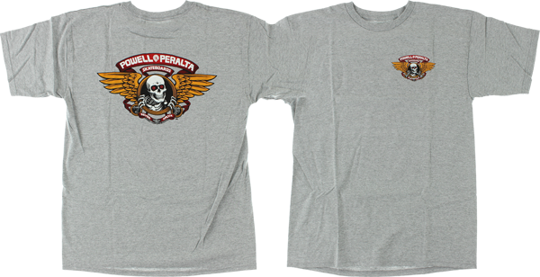 PWL/P WINGED RIPPER SS S-HEATHER GREY