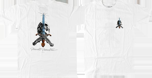 PWL/P SKULL & SWORD SS S-WHITE