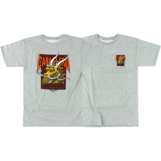 PWL/P CAB STREET DRAGON SS S-HEATHER GREY