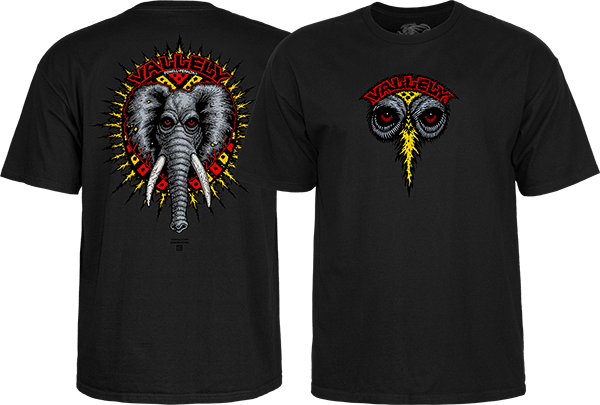 PWL/P VALLELY ELEPHANT SS S-BLACK