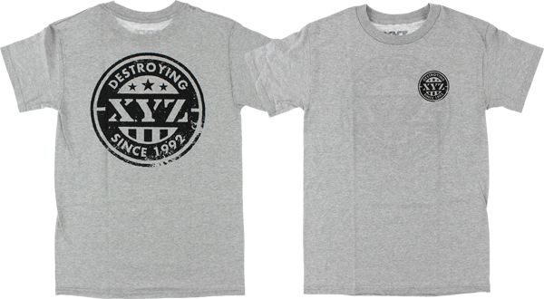 XYZ PRIDE SS L-HEATHER GREY sale