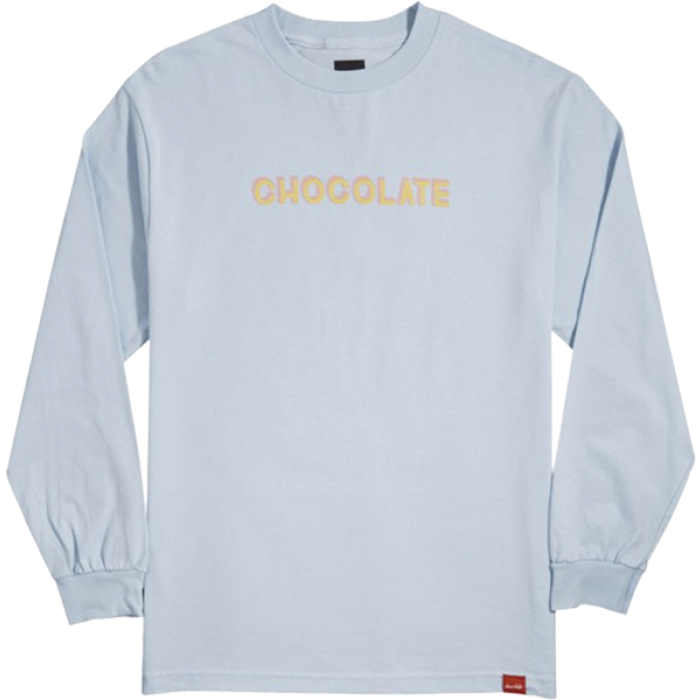 CHOC BAR L/S XL-POWDER BLUE