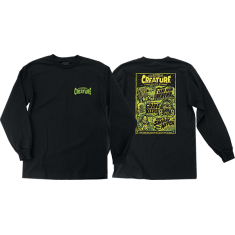 CREATURE WICKED TALES LS S-BLACK