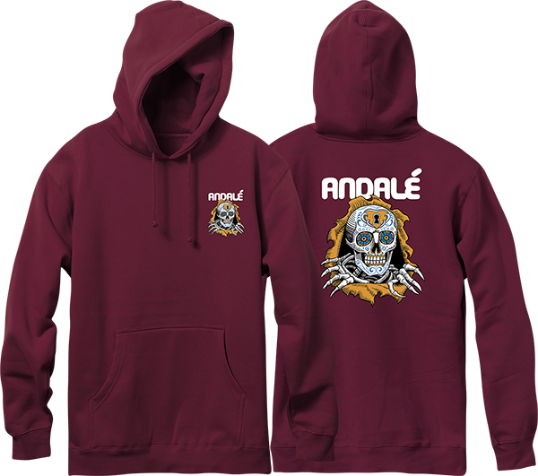 ANDALE BRIGADE HD/SWT S-BURGUNDY