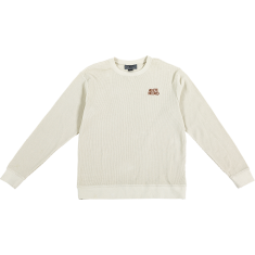 AH LIL BLACK HERO CREW/SWT S-OFF WHITE